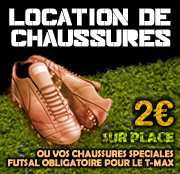 Location de chaussure - Foot Max